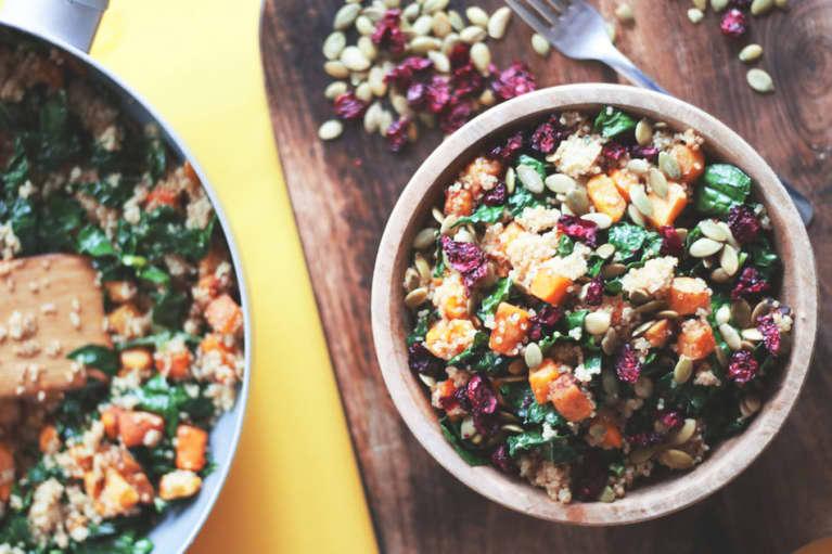 The Ultimate Vegan Harvest Quinoa Bowl