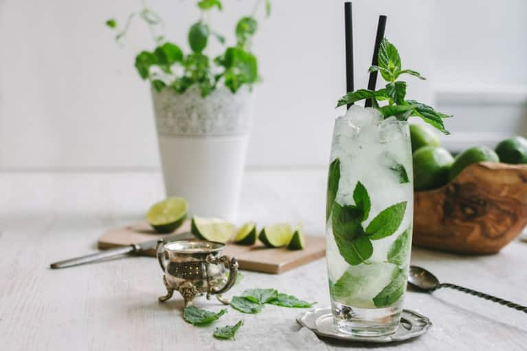 Cilantro Sangria Slushie + 5 More Herb-Infused Cocktails You Need This Spring