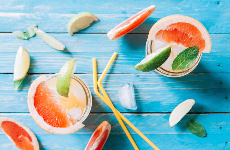 Better-For-You Frozen Cocktails You'll Want To Drink All Summer
