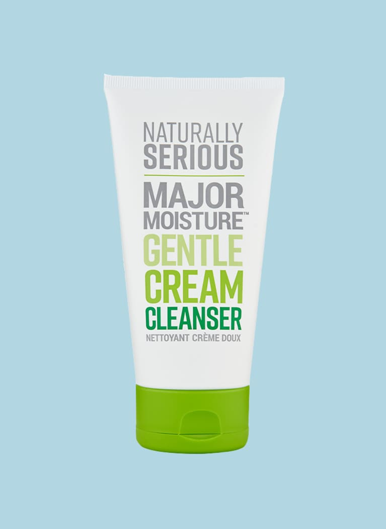 naturally serious cream cleanser