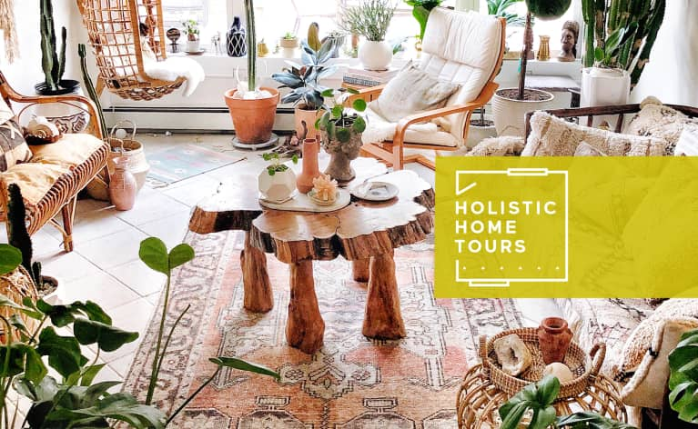 This Family's Earthy Home Is Filled With The Most Beautiful Crystals We Ever Did See