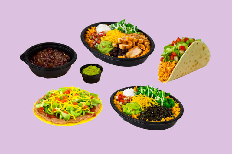 The Healthiest Foods At Taco Bell, According To Nutritionists