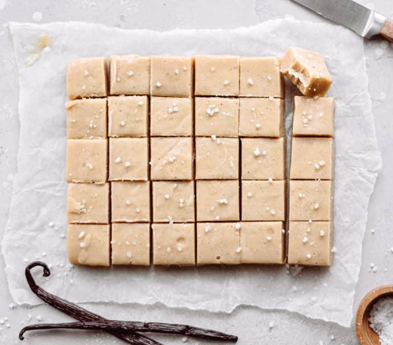 No-Bake Vanilla Fudge