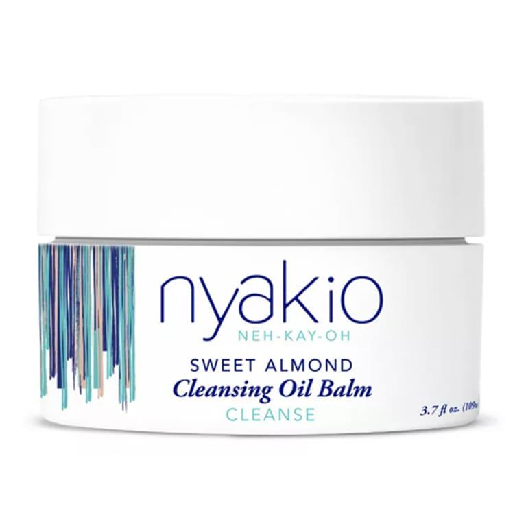 nyakio sweet almond cleansing balm