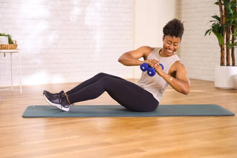 core twist exercise