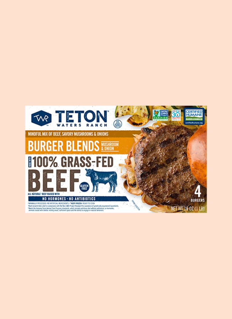 Teton Waters Ranch Mushroom & Onion Burger Blend