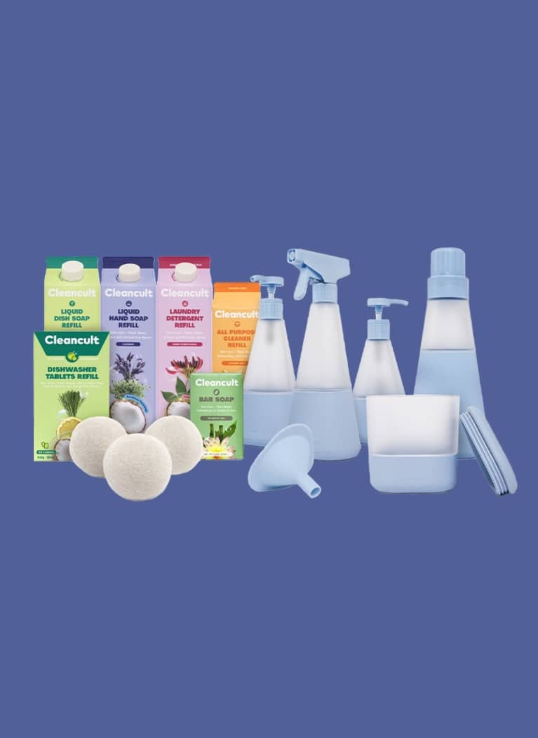 Cleancult cleaning product bundle