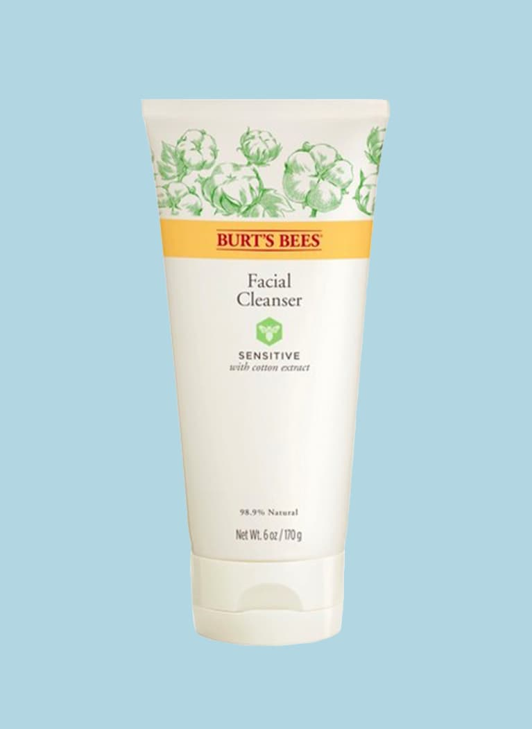 burts bees facial cleanser