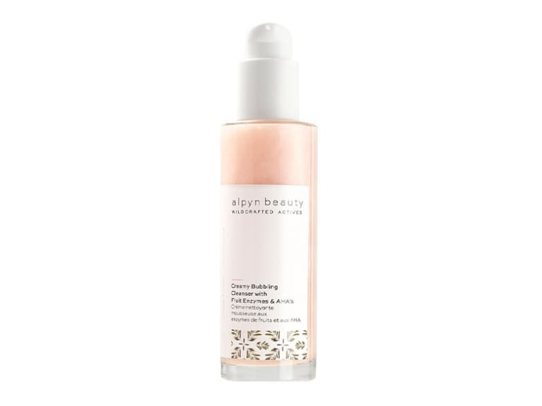 Alpyn Beauty Creamy Bubbling Cleanser With Fruit Enzymes & AHA's