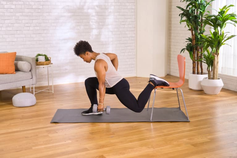Strengthen Your Leg Muscles *Way* More Effectively With This Quick Home Workout