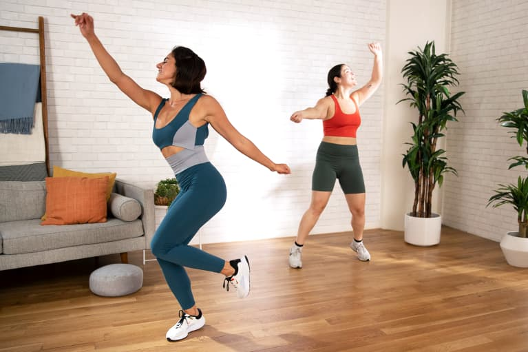 mbg moves: A 5-Minute Heart-Opening Dance Cardio Workout