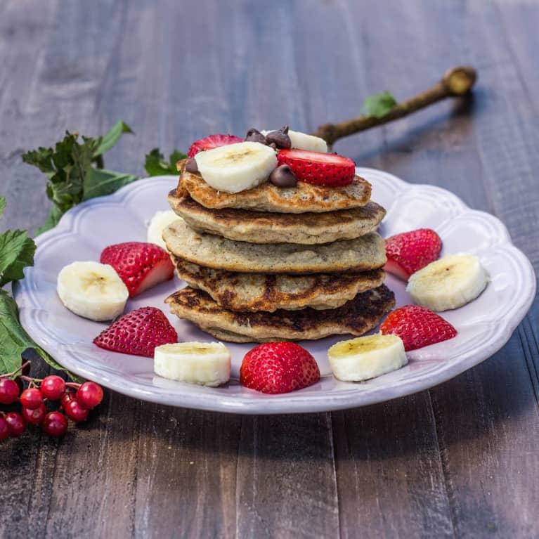 Vegan Pancakes For One