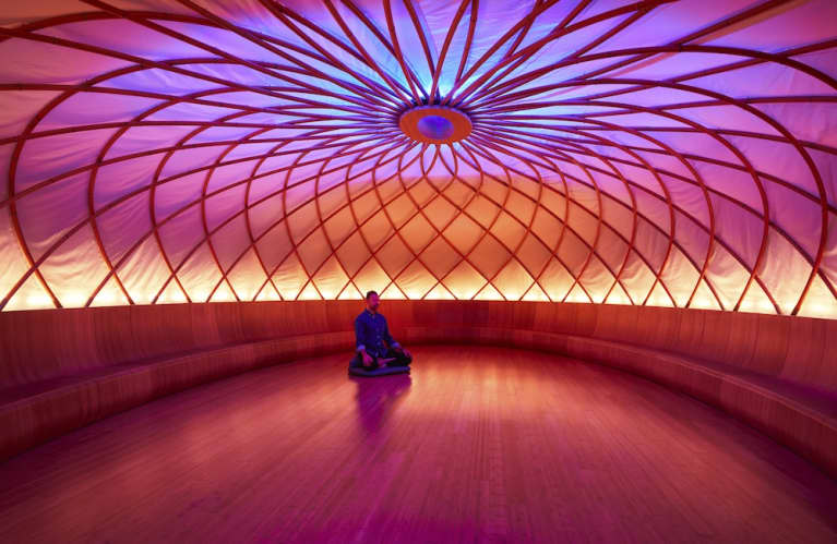 Are Beautiful Spaces The Future Of Meditation? A Peek Inside Inscape, NYC's Newest, Chicest Sacred Space