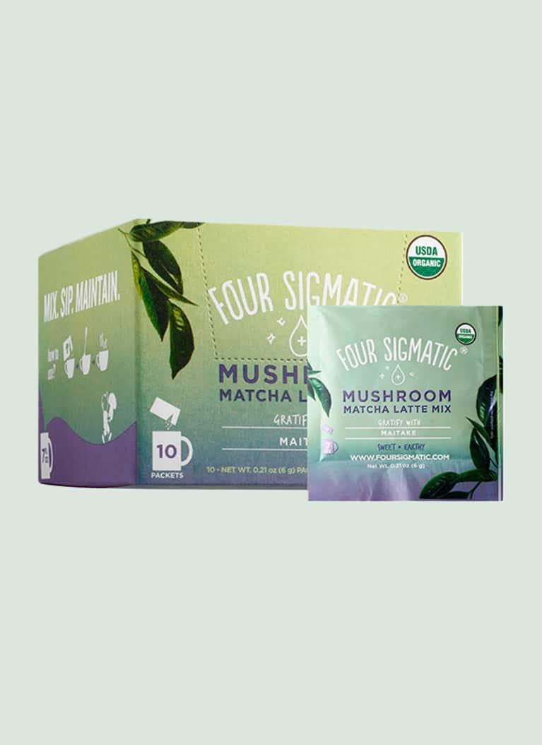 Four Sigmatic mushroom matcha mix
