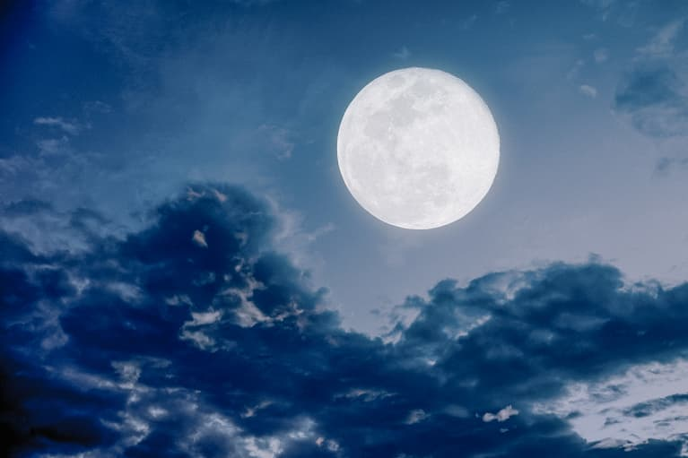 Have You Heard? Hosting A Virtual Full Moon Circle Is The Move This Weekend