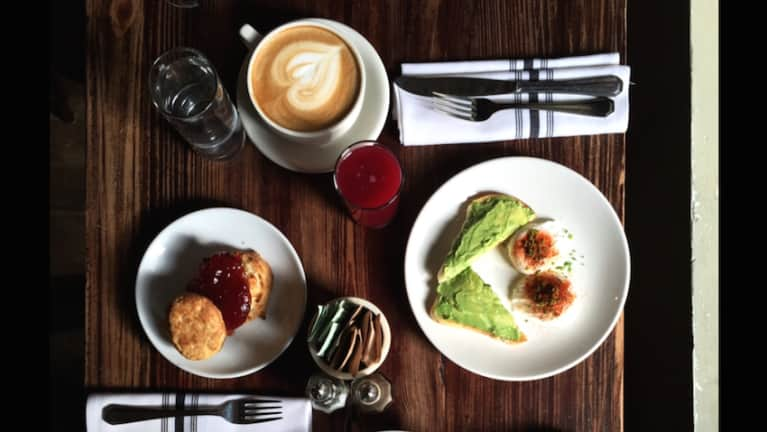 Perfect Weekday Breakfast: Avocado Toast, Brooklyn Style