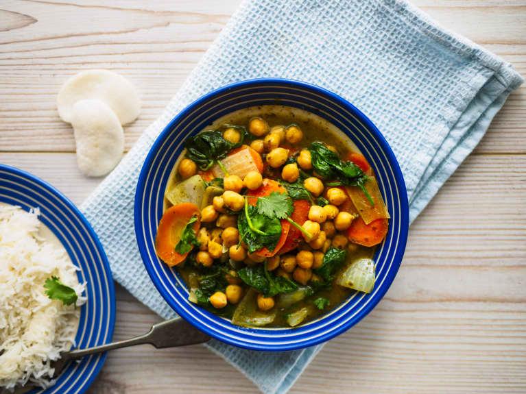A Healing Chickpea Curry Recipe From A Vegan Restaurateur
