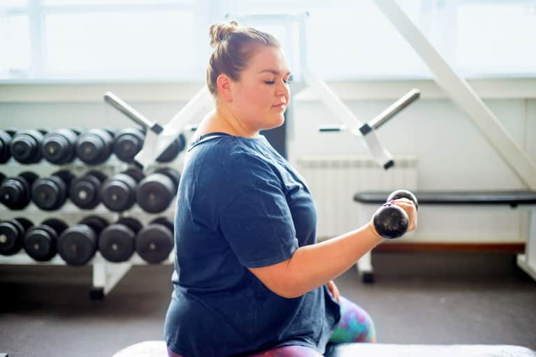 Lift Weights To Lift Your Mood, According To A New Study