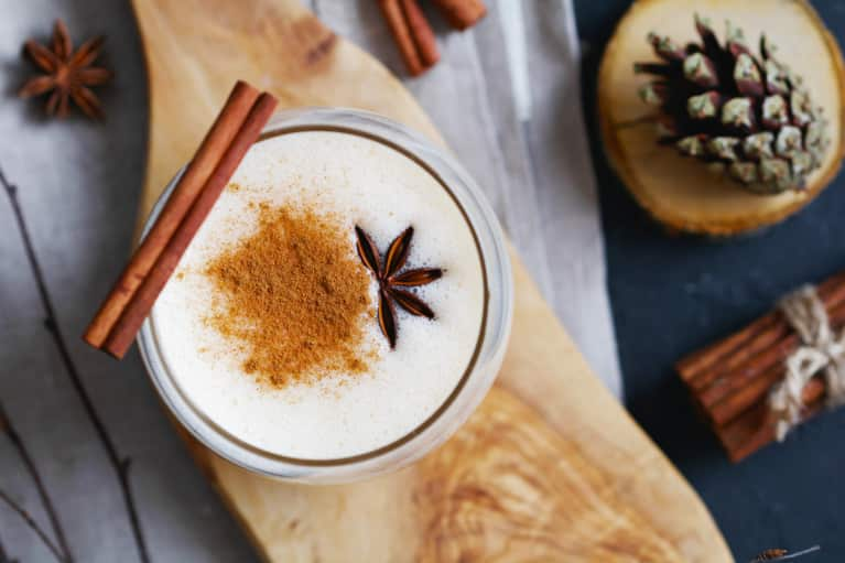 Meet The Vegan Eggnog You'll Want To Sip All December Long