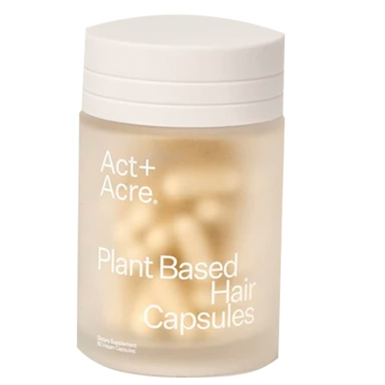 Act+Acre plant based hair capsules