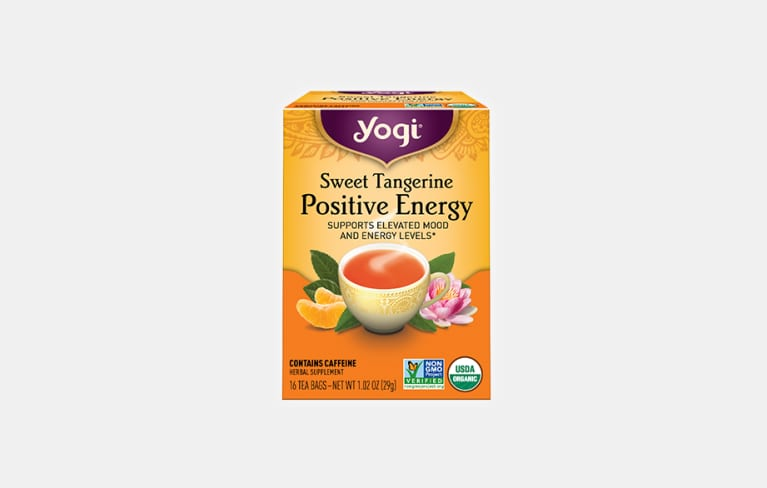 <p>Sweet Tangerine Positive Energy Tea</p>