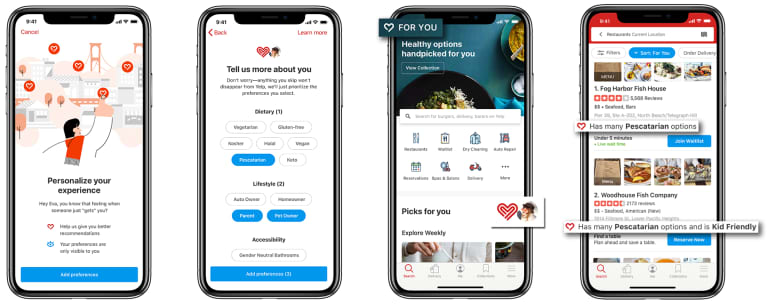 New Yelp Feature Makes Healthy Eating WAY Easier