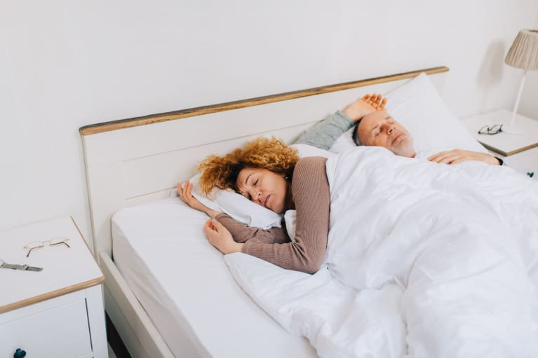 What To Do If Your Partner's Snoring Keeps Waking You Up At Night