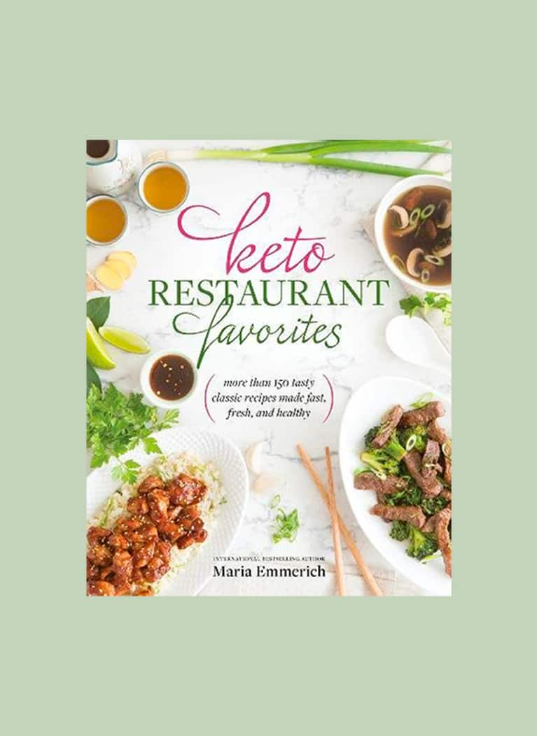 Keto Restaurant Favorites cookbook