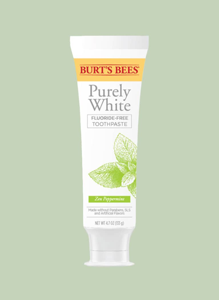 Burt's Bees Purely White Zen Peppermint Toothpaste Fluoride-Free