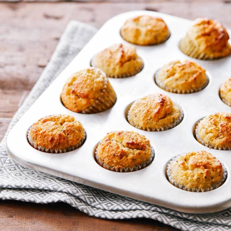 Keto Lemon Muffins