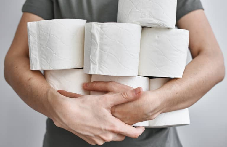 Spare A Square? 4 Reasons To Ditch Toilet Paper (And What To Do Instead)