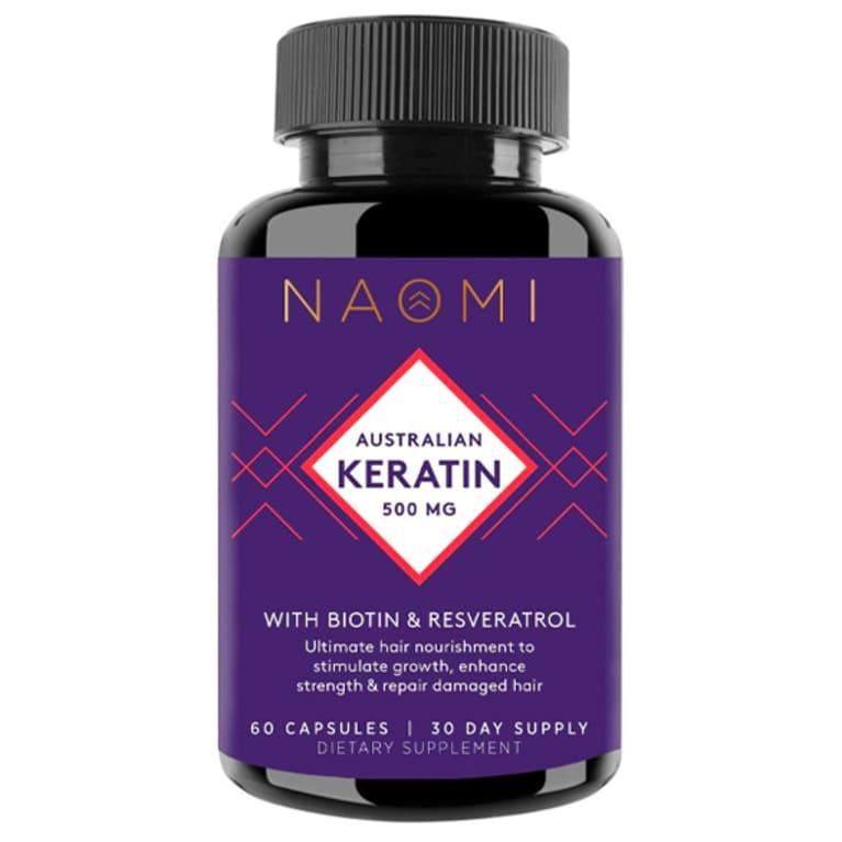Keratin Hair Supplement, NAOMI