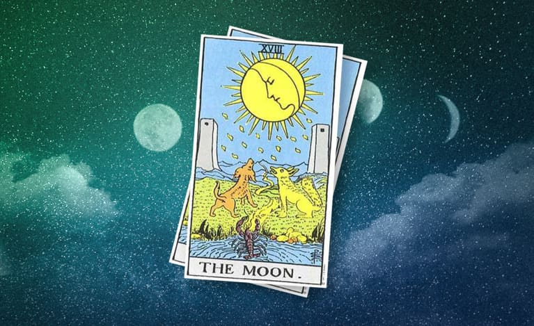 Pulled The Moon Tarot Card? It Might Be Time To Look Within