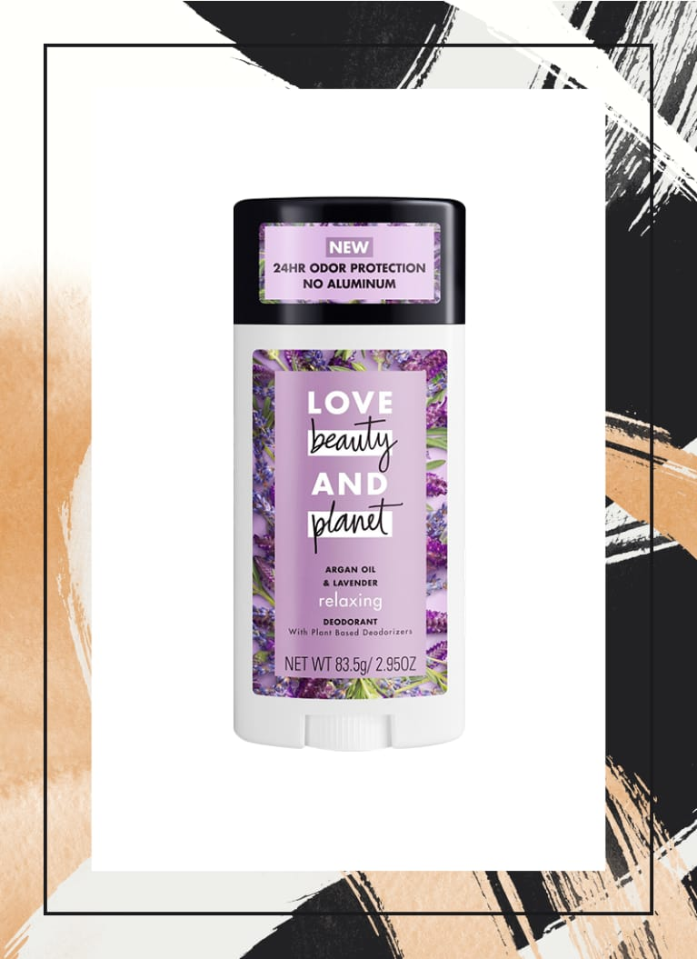 Love Beauty and Planet Argan Oil & Lavender Deodorant Stick