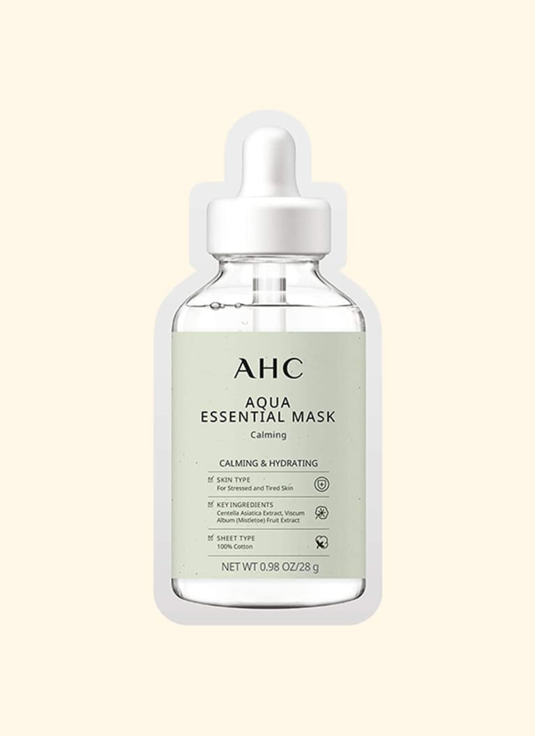 ahc essential sheet mask