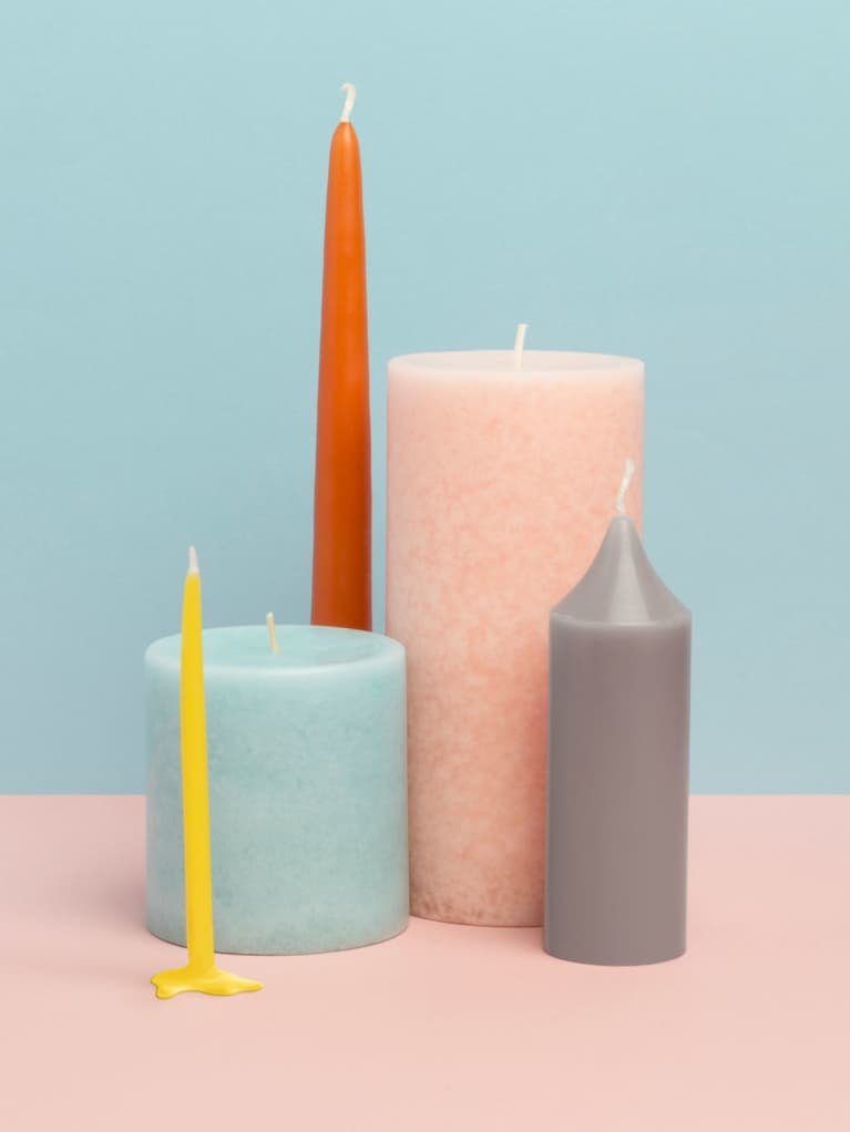 A Quick Candle Ritual To Tap Into The Power Of Tomorrow's New Moon