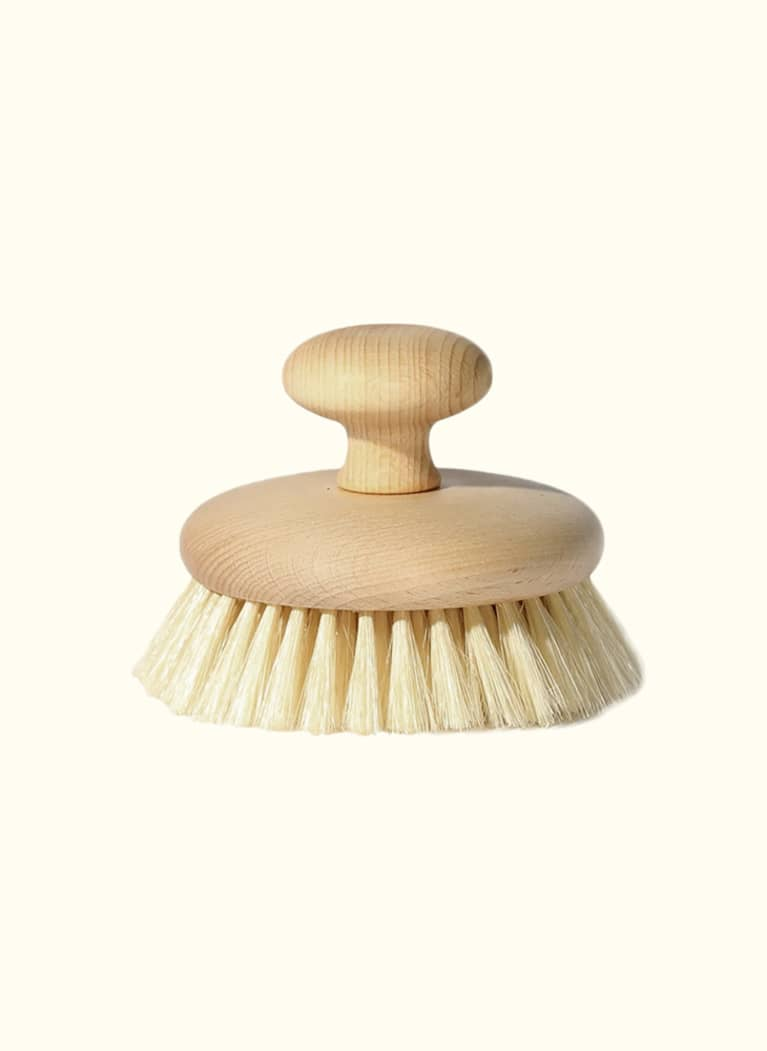 bathing culture dry brush