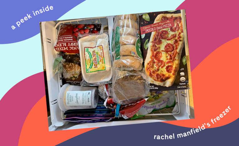 What's Inside Rachel Manfield's Freezer