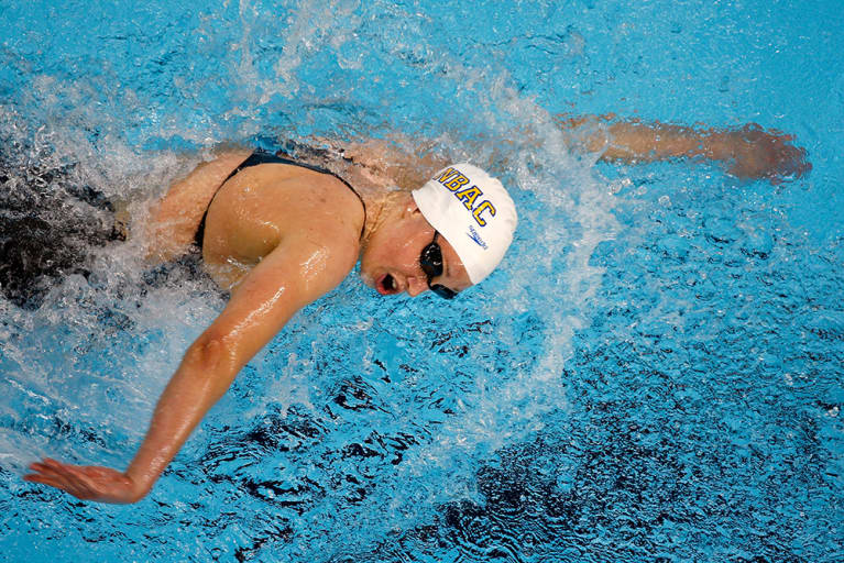 Olympian Katie Hoff On Her Favorite Workout (Other Than Swimming!)