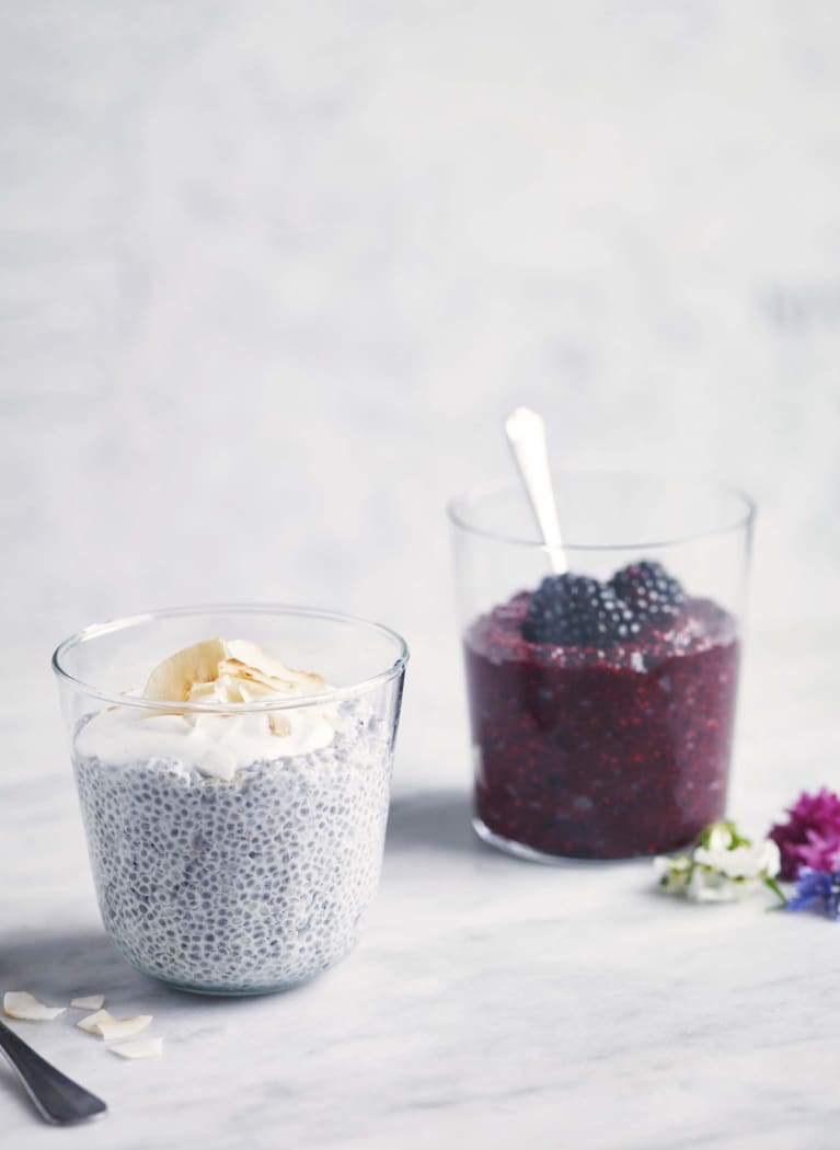 Wake Up Your Taste Buds With This Brain-Boosting Berry Chia Pudding