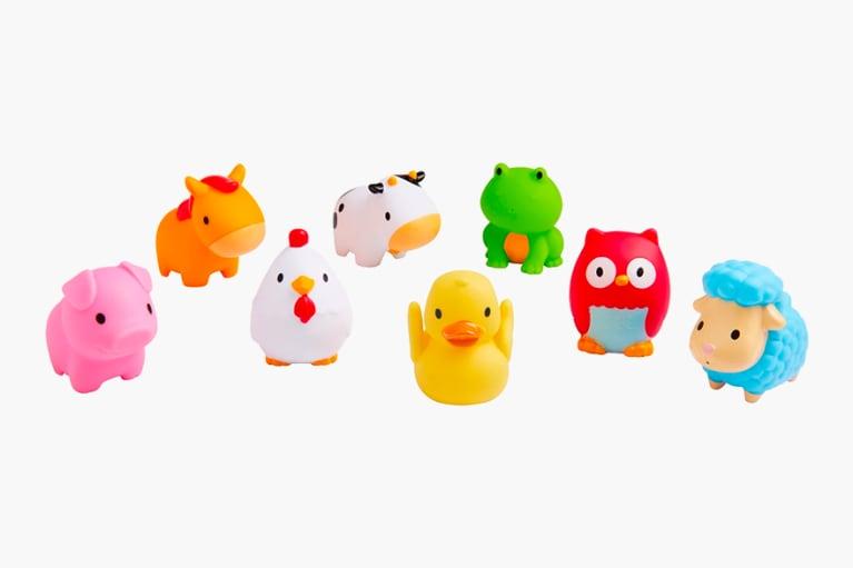 <p>Barnyard Friends Bath Toys</p>