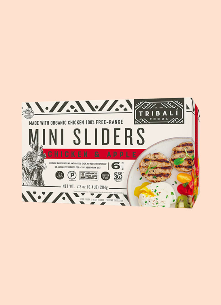 TRIBALÍ Foods™ Chicken & Apple Mini Sliders