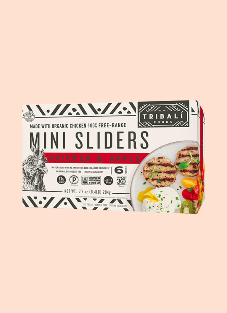 TRIBALÍ Foods™ Chicken & Apple Mini Sliders