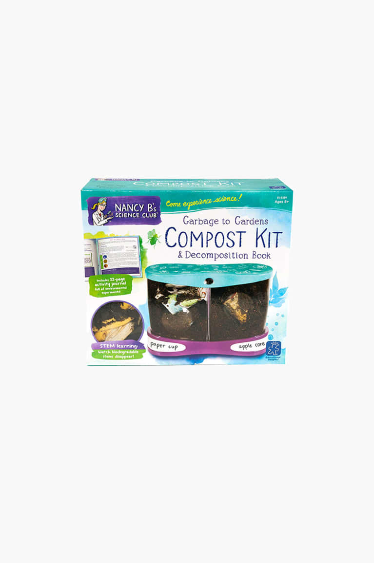 2. A kid-friendly compost bin