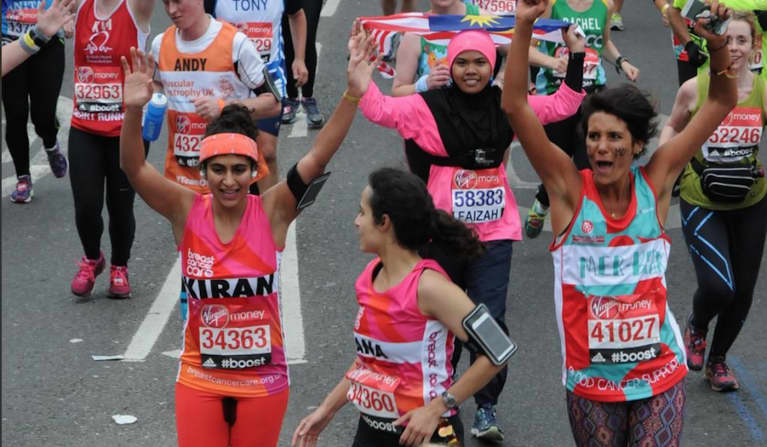 Why This Woman Ran A Marathon On Her Period Without A Tampon