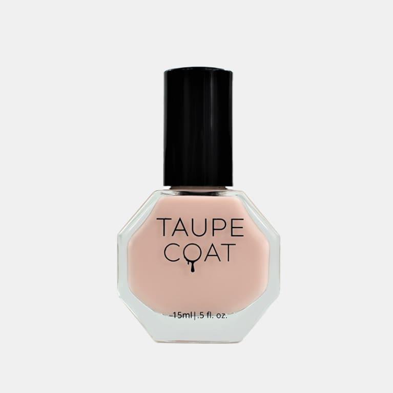 taupe coat nail polish