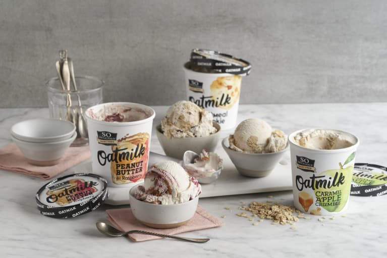 So Delicious new creamy oatmilk ice cream