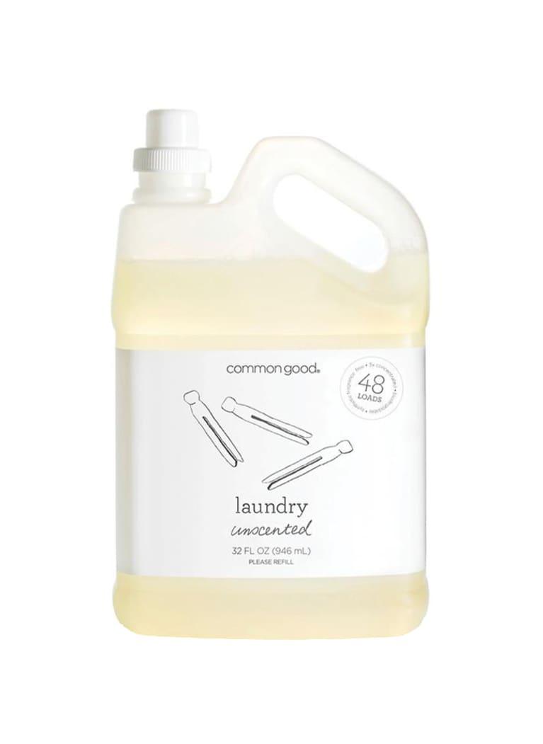 Common Good laundry detergent bottle