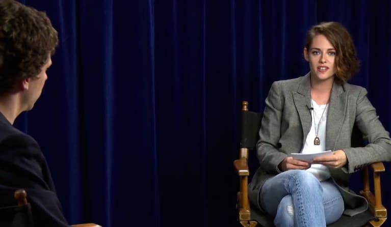 Watch Kristen Stewart & Jesse Eisenberg Mock Sexist Film Interviews