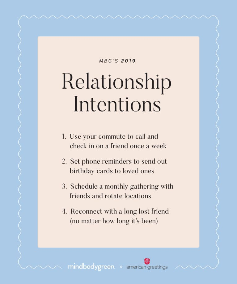 mbg Asks: What Are Your Top Relationship Intentions This Year?